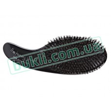 Щетка Olivia Garden Kidney Brush Boar Styler, черная